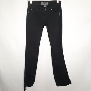 TRIPP NYC black low rise jeans